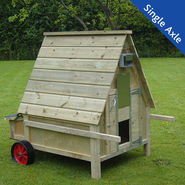 12 bird Chicken House with single axle