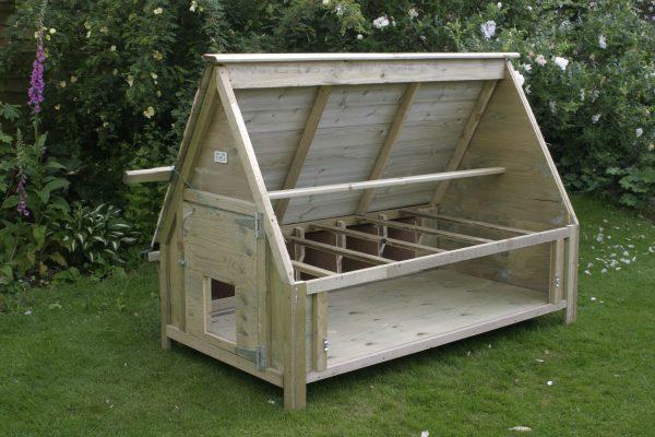 30 bird chicken house no nest box