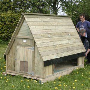 50 bird chicken house