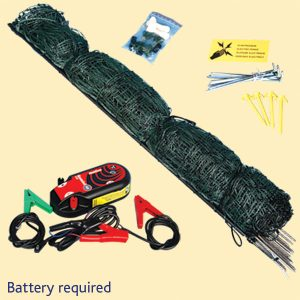 battery fencing kit
