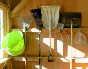 chicken coop cleaning tools