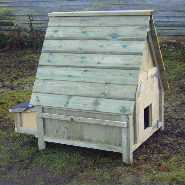 12 bird Chicken House & HenSafe Door