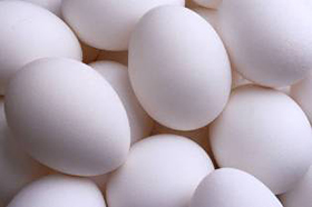 Andalusian chicken eggs