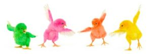 chicks dancing
